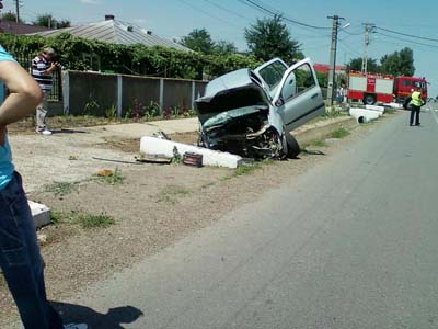 Accident rutier in loc Traian Neamt 24.06.2012